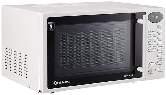 Bajaj 20 L Grill Microwave Oven with Jog Dial (2005 ETB)
