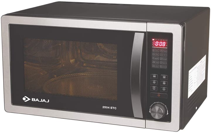 Bajaj 25 L Convection Microwave Oven with Jog Dial (2504 ETC)