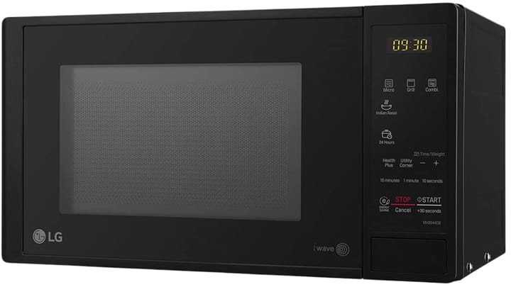 LG 20 L Grill Microwave Oven with Starter Kit (MH2044DB)