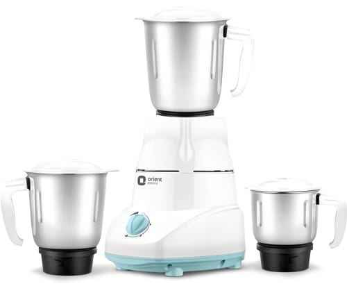 Best mixer grinders in India - Orient 500-Watt Mixer and Grinder with 3 jars