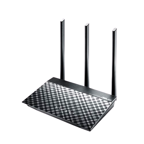 ASUS RT-AC 53 AC 750 Dual band Gigabit WiFi Router - best wifi router for home use