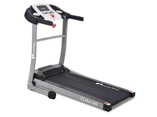 best treadmill under 20,000 - Powermax fitness motorized treadmill (TDM-98) 1.75HP (3.5HP peak)