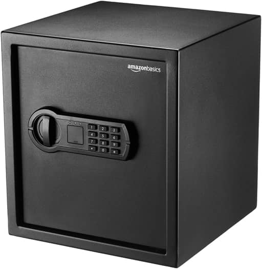 AmazonBasics Home Safe 14.95 kilograms-Best Home Security Systems in India