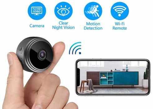 IFI Tech Mini Hidden Wi-Fi Camera