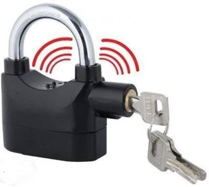 Velveeta Anti Theft Burglar Padlock Alarm Security