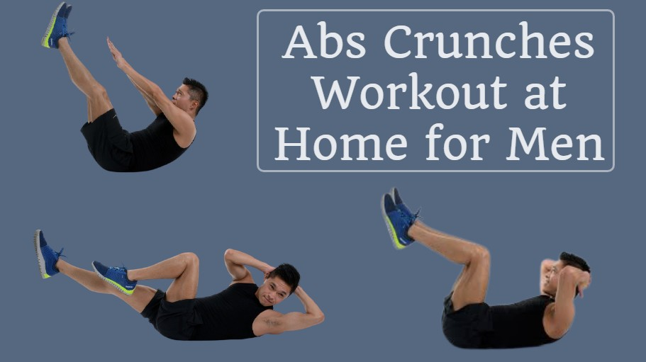 Abs Crunches Workout at Home for Men