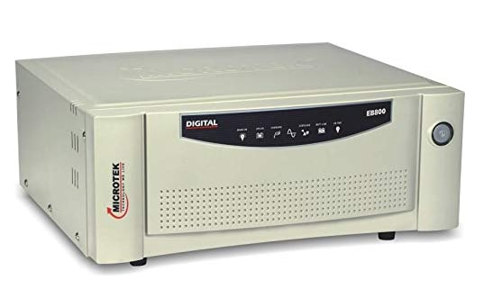 Best inverters in India - Microtek EB 800 VA UPS inverter