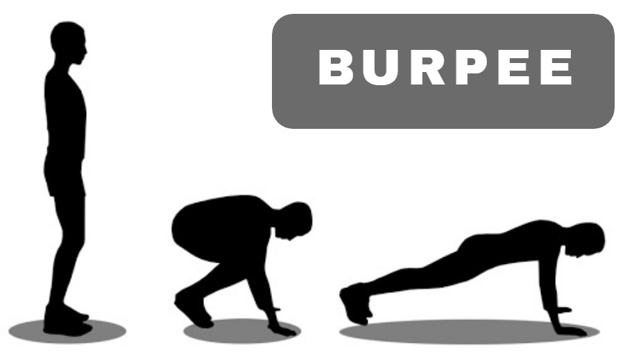 Burpee Workout at Home for Men - Workout at home for men