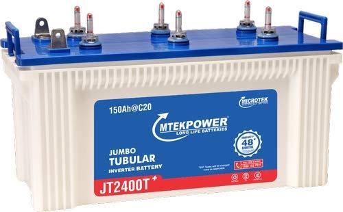 Microtek Mtek Power JT-2400T Jumbo Tubular Battery 150Ah