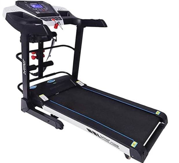 best treadmill under 25,000 for India - Fitkit Motorized treadmill (FT100S series) 1.75HP (3.25 HP peak)