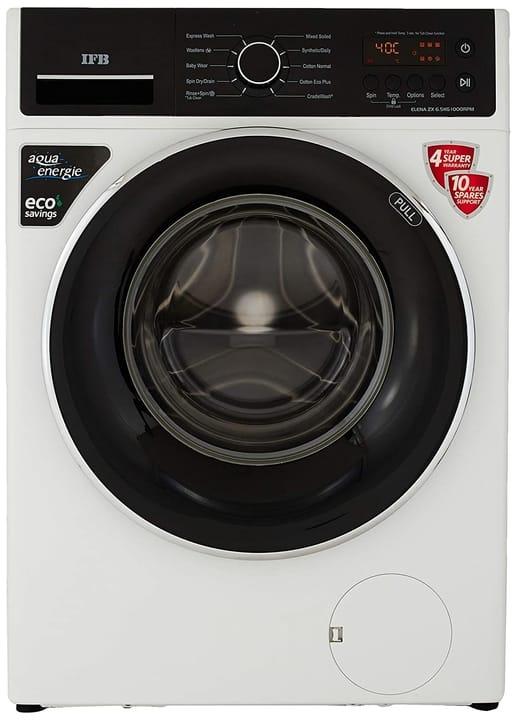IFB 6.5 Kg 5 Star Fully-Automatic Front Loading Washing Machine (Elena ZX, White, Inbuilt Heater)