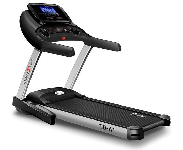 2. PowerMax Fitness Urban Trek TD-A1 4.0HP Peak Pre-Installed Motorized Treadmill