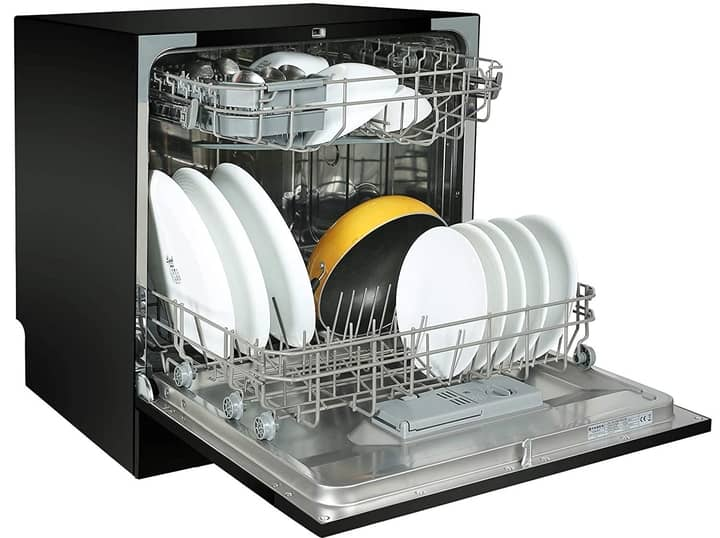 Faber table top 8 Place Setting Dishwasher (FFSD 6PR 8S Ace Black)