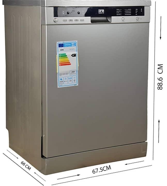IFB Neptune VX Fully Electronic Dishwasher (12 Place Settings)