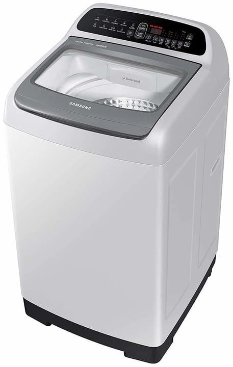 Samsung 6.5 Kg Inverter Fully-Automatic Top Loading Washing Machine (WA65T4262GGTL, Light Grey,wobble technology)