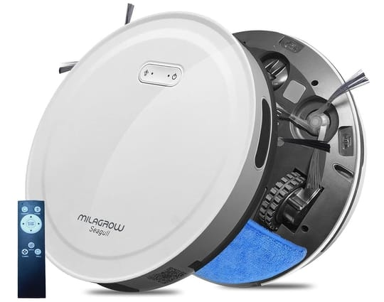 6. Milagrow Seagull Prime Robot Vacuum Cleaner with Remote Control