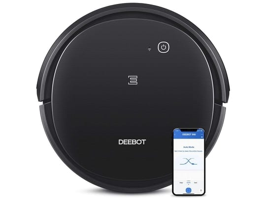 9. ECOVACS Deebot 500 Robotic Vacuum Cleaner with App & Voice Control