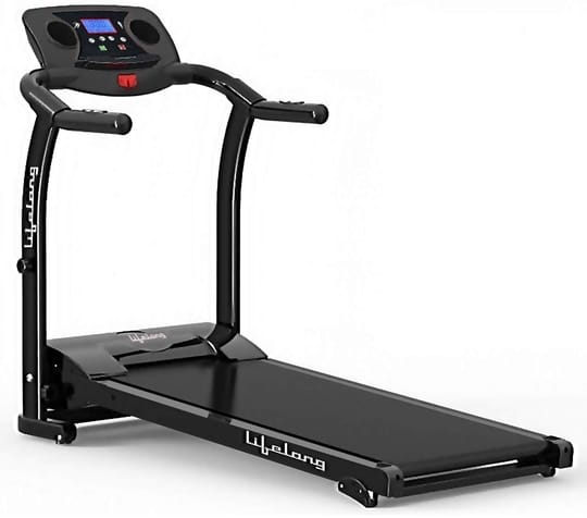 #3. Lifelong Fit Pro 2 HP Motorized Treadmill for Home