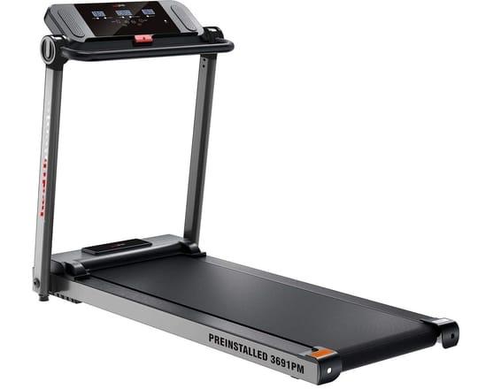 #5. Healthgenie 3691PM Pre-Installed, 3.5HP at Peak Motorized Treadmill