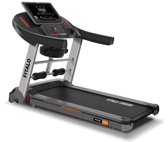 Fitalo Play T2 Plus (4.0 HP Peak) DC Motor Motorised Treadmill